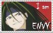 I am Envy stamp by rigbyxc2007
