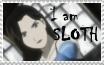 I am Sloth stamp by rigbyxc2007