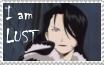 I am Lust stamp by rigbyxc2007