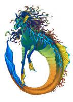 Hippocampus by Kyrrahbird