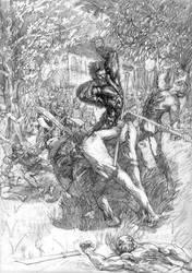 Hombre Lobo by papalazarus