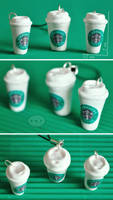 clay Starbucks by cihutka123