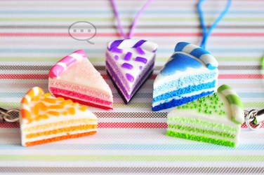 clay colorful cakes by cihutka123