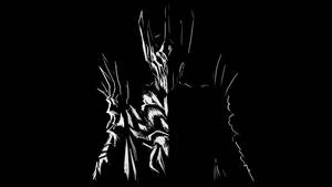 Sauron B and W by SpartanK42
