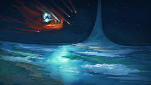 Pillar of Autumn - Crash Landing by SpartanK42