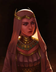 Melian, Queen of Doriath by SpartanK42