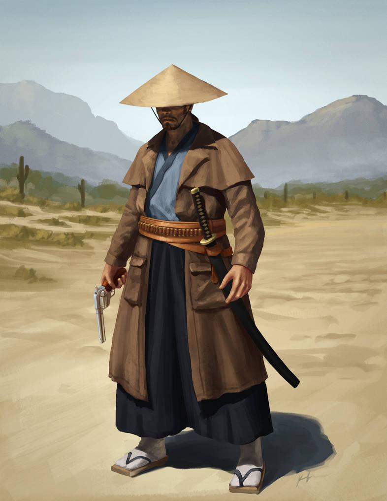 Cowboy Tanaka by SpartanK42