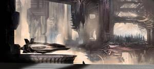 City Scape by chromoslydirty