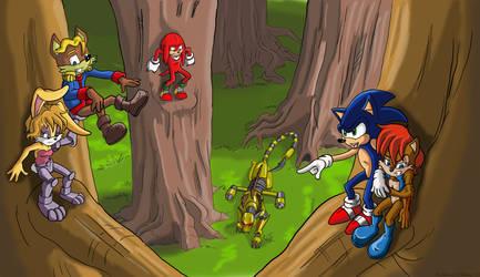 Forest Stalker revisit by Son-Neko