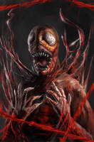 spider man carnage by DClayne
