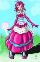 Pinkie Pie Gala Dress. humanized by The-Park