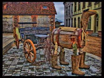 Barrel Horse by kiokiliant