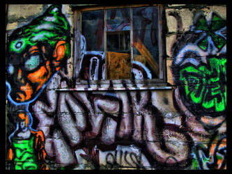 Old Rural Graffiti by kiokiliant