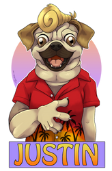 Badge - Justin by Cayleth
