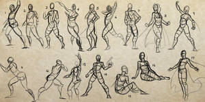 Gesture Practice by Sawuinhaff