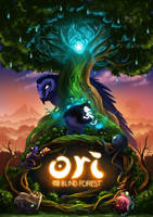Ori and the Blind Forest by Sawuinhaff