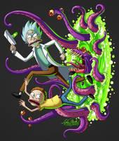 Rick and Morty - Portal Problem by Sawuinhaff