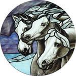 Pharoah's Horses by indeestudios