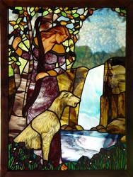Dawn Lee Thompson Glass Art by indeestudios