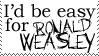 Ronald Weasley stamp by SparrowWings