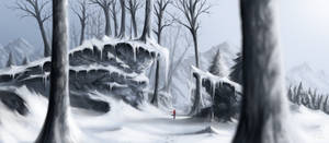 Winter walk by T-oxis
