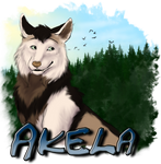 Akela Medallion by AhikuWolf