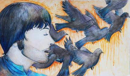 Blackbird by JacobJenkins
