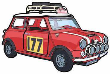 1967 Mini Cooper Rallye by ferrari2006extreme