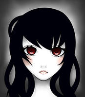 Original - Red Eyes by MerrBakeneko