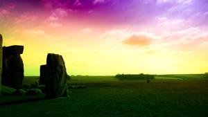 Hippie Stonehenge by deiiff88