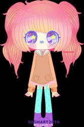 cute girl by sugmartchan