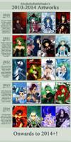 2010-2014 by Ysenna