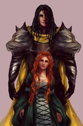Sansa and Sandor by Ysenna