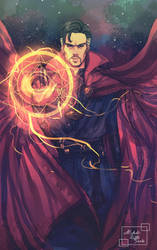 Doctor Strange by Luciferys