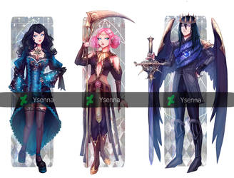 Adoptables-paypal- 1/3 open by Ysenna