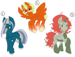 Adoptable Batch: Weather [CLOSED] by quila111