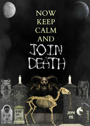 KEEP CALM DEATH by CarlosAE