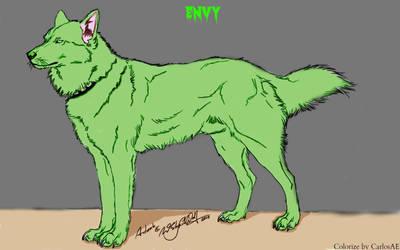 Seven Deadly Sins Animals: Dog by CarlosAE