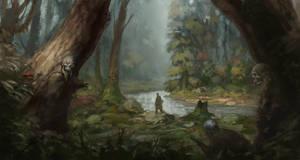 Undead ambush by JonasJensenArt