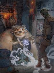 Witch Shop by JonasJensenArt