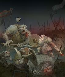 Battle by JonasJensenArt