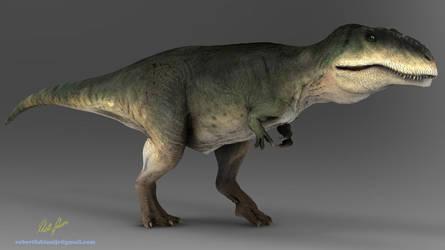 Giganotosaurus by robertfabiani