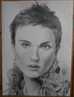 Natalie Portman by YouAreNotAGun