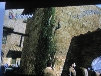 Assassins Creed 2 Glitch 1 Man in a Tree by Earthsongfairy