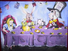 The mad teaparty by GodsHellSing