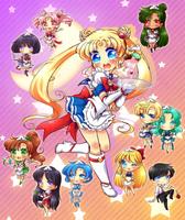 Revamp Maid Sailor Moon by neutrinoflavor