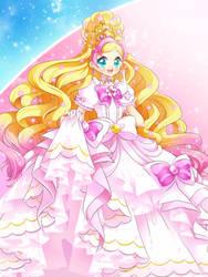 Cure Flora Premium Mode Elegant Sakura by neutrinoflavor