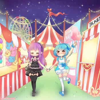 Kimagure Carnival by neutrinoflavor