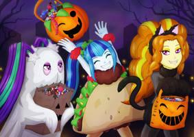little dazzlings halloween by Villaincorner