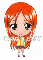 Orihime Copic color style by CrezyKiss
